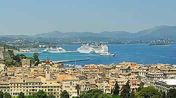 Ferry port Corfu