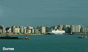 Ferry port Durres