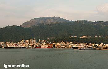 Ferry port Igoumenitsa