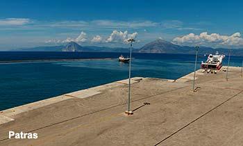 Ferry port Patras