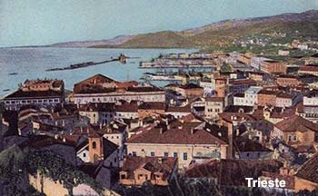 Ferry port Trieste