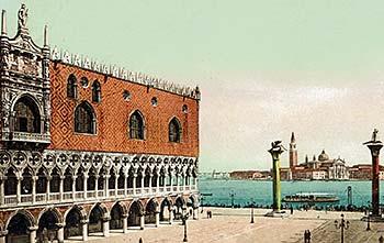 Ferry port Venice