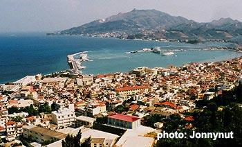 Ferry port Zakynthos