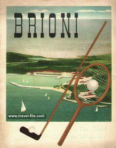 Golf and Tennis at Brijuni in 1930s
