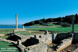 Roman villa rustica, Verige Bay, Brijuni