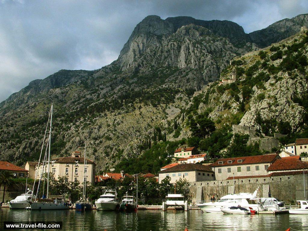 Views over Kotor bay