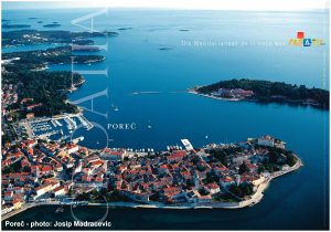 Porec - Panorama Views over Old town and Surroundings