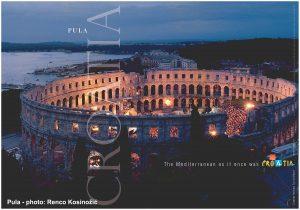 The Pula Arena - Roman Amphitheatre in Pula, Croatia