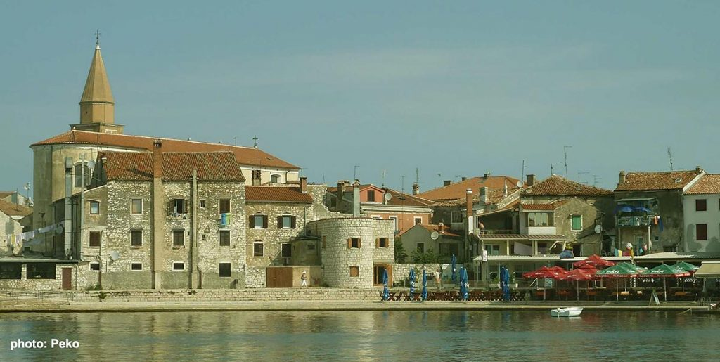 Umag- the old town
