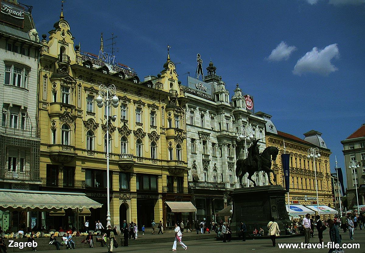 Jelacica Plac, Zagreb
